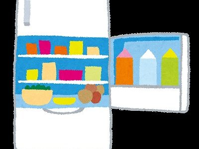 冷蔵庫の高さが低いと物を置いてしまう。これって私だけ?