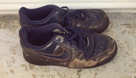 ミニマリストの靴|夫がボロボロの靴を断捨離