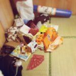 【公開】畳の部屋が大変身!物が多いと汚部屋になりやすい!?