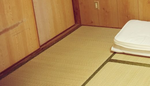 【汚部屋が加速中】散らかり放題の我が家。久々に畳が顔を出した。